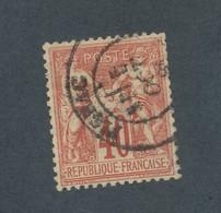 FRANCE - N°YT 70 OBLITERE - COTE YT : 35€ - 1878 - 1876-1878 Sage (Type I)