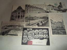 Lot Cpa Carte Postale Ancienne Gray - Gray
