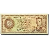 Billet, Paraguay, 50 Guaranies, KM:197b, NEUF - Paraguay