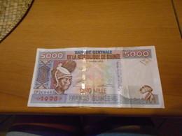 GUINEE  1998  -  5000  FRANCS   BILLET - Unclassified