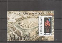 JO De Atlanta -1996 ( BF 287 XXX -MNH- De Saint-Thomas Et Prince) - Estate 1996: Atlanta