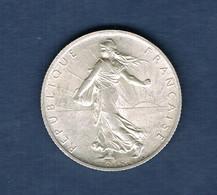 FRANCE MONNAIE 2 FRANCS SEMEUSE 1914 C Castelsarrasin En SPLENDIDE Avec Brillant De Frappe. - France