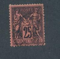 FRANCE - N°YT 91 OBLITERE - COTE YT : 30€ - 1878 - 1876-1898 Sage (Type II)