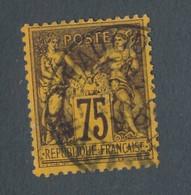 FRANCE - N°YT 99 OBLITERE - COTE YT : 50€ - 1890 - 1876-1898 Sage (Type II)