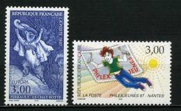 FRANCE       N° Y&T  3058 Et 3059  ** - France