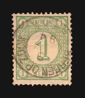 NVPH #31 SON CANCEL BERGEN OP ZOOM GEBRUIKT  (A_4272) NETHERLANDS NEDERLANDS - Gebruikt