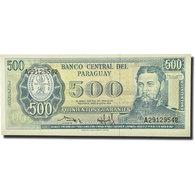 Billet, Paraguay, 500 Guaranies, 1990, KM:206, NEUF - Paraguay