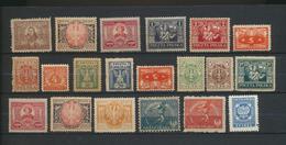Pologne  Petit Lot Timbres Neufs Avec Charnière  20 Timbres - 1919-1939 République