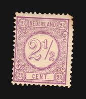 NVPH #33 F MLH ONGEBRUIKT  CATALOGUE VALUE EURO 115 (A_4272) NETHERLANDS NEDERLANDS - Ongebruikt