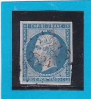 N° 14 B  PC  2824  SAULIEU  /  20  COTE D'OR  - LOT 9916 - 1853-1860 Napoleon III