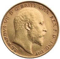 ***Mezza Sterlina - Edoardo VII   Bella Moneta Vari Anni  ORO - GOLD  ...*** - 1902-1971 : Monete Post-Vittoriane