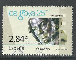 Spanje, Yv Uit Blok 198  Jaar 2011, Hoge Waarde,   Gestempeld - 1931-Aujourd'hui: II. République - ....Juan Carlos I