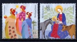 Allemagne Fédérale - Germany - Deutschland 2007 Y&T N°2452 à 2453 - Michel N°2626 à 1627 (o) - Noël - [7] République Fédérale
