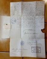 PORTUGAL ORDRE CHEVALIER LEGION D'HONNEUR REI DUREME CAVALLEIRO MILITAR VILLA VICOZA  MILITAIRE GUINEE RIO GRANDE - Documentos