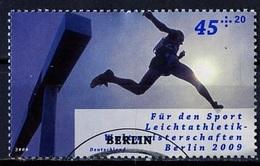 Allemagne Fédérale - Germany - Deutschland 2009 Y&T N°2552 - Michel N°2727 (o) - 45c+20c Courses De Haies - [7] Federal Republic
