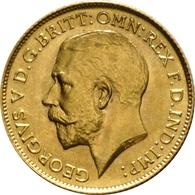 ***Mezza Sterlina - Giorgio  V   Bella Moneta Vari Anni  ORO - GOLD  ...*** - 1902-1971 : Monete Post-Vittoriane