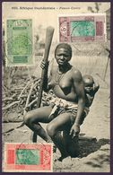 CPA Afrique Occidentale Guinée 1926 Conakry Femme Cerére Maternité - Guinée Française