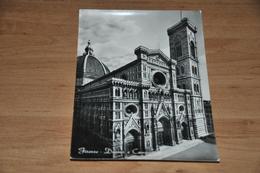 8764-    FIRENZE, DUOMO E CAMPANILE - Firenze