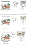 Nouvelle -Calédonie - Elevage De Bovins ( 3 FDC De 1969 à Voir) - FDC