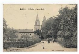 GLONS      L'Eglise Et La Rue Lulay 1913 - Bassenge