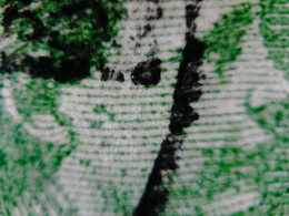 PLAATFOUTEN OR DIRTY PLATE SHOWING SPOTS IN DESIGN ERROR VARIETY  (A_4272) NETHERLANDS NEDERLANDS - Gebruikt