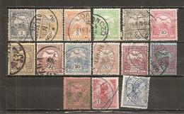 Hungría-Hungary Lote 15 Sellos Año 1913 (usado) (o) - Hungría