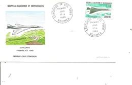 Nouvelle -Calédonie - Concorde (  FDC De 1969 à Voir) - FDC