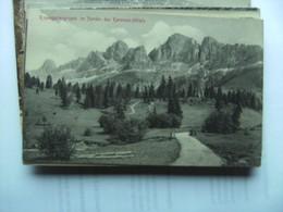 Italië Italy Italien Rosengartengruppe Im Norden Des Karersee Hotels - Trento