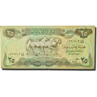 Billet, Iraq, 25 Dinars, 1981-1982, KM:72, TTB - Iraq
