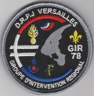 Écusson Police DRPJ Versailles - GIR 78 - Police & Gendarmerie