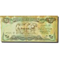 Billet, Iraq, 25 Dinars, 1981-1982, KM:72, TB - Iraq