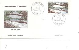 Nouvelle -Calédonie - Géologie - Ile Des Pins  (  FDC De 1964 à Voir) - FDC
