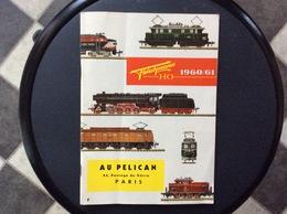 CATALOGUE AU PELICAN  Fleischmann HO 1960/61 - Books And Magazines