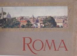 ROMA. 24 VUES. SIZE 32.5x23 Cm. ERD. CIRCA 1900s WEIGHT APROX 320grs - BLEUP - Photo