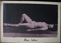 FOTOGRAFIA DI BERA SOLARI (NON IDENTIFICATA) - Cartoline