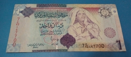 Libya 1 Dinar (P71) 2009 - Libya