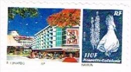 Nouvelle Caledonie Timbre Personnalise Public Ouverture Caledosphere Service Philatelique Noumea Unc Neuf 2013 - Unused Stamps