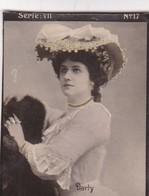 DARTY. HABANILLOS LA PLATA, MONTEVIDEO. TARJETA COLECCIONABLE. CIRCA 1915 SIZE 4.5x5.5cm - BLEUP - Célébrités