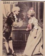 PAREJA GALANTE COLORISE PHOTO. J SALGUEIRO. CARD TARJETA COLECCIONABLE HABANOS. CIRCA 1915 SIZE 4.5x5.5cm - BLEUP - Personnes