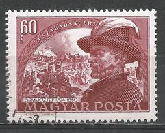 Hungary 1950. Scott #915 (U) Gen. Josef Bem And Battle At Piski * - Oblitérés