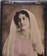 CAVALIERI. COLORISE. HABANILLOS LA PLATA. CARD TARJETA COLECCIONABLE HABANOS. CIRCA 1915 SIZE 4.5x5.5cm - BLEUP - Berühmtheiten