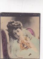 CHAUGISI. COLORISE. CARD TARJETA COLECCIONABLE TABACO. CIRCA 1915 SIZE 4.5x5.5cm - BLEUP - Célébrités