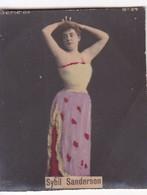 SYBIL SANDERSON. COLORISE. CARD TARJETA COLECCIONABLE TABACO. CIRCA 1915 SIZE 4.5x5.5cm - BLEUP - Berühmtheiten