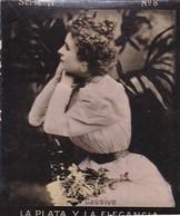 CASIBE. HABANILLOS LA PLATA. COLORISE. CARD TARJETA COLECCIONABLE TABACO. CIRCA 1915 SIZE 4.5x5.5cm - BLEUP - Célébrités