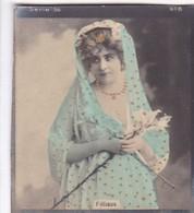 FILLAUX. COLORISE. CARD TARJETA COLECCIONABLE TABACO. CIRCA 1915 SIZE 4.5x5.5cm - BLEUP - Berühmtheiten
