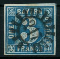 BAYERN QUADRATE Nr 2II GMR 217 Zentrisch Gestempelt X87E5CE - Bavaria