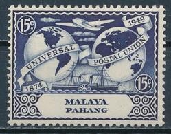 °°° MALAYA PAHANG - Y&T N°38 - 1949 MLH °°° - Pahang