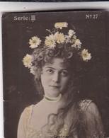 GESSNOR. HABANILLOS LA PLATA. COLORISE. CARD TARJETA COLECCIONABLE TABACO. CIRCA 1915 SIZE 4.5x5.5cm - BLEUP - Célébrités