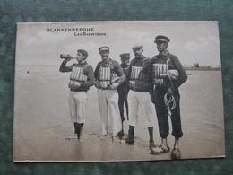 BLANKENBERGE - LES SAUVETEURS ( Scan Recto/verso ) - Blankenberge