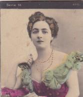 MANUEL. COLORISE. CARD TARJETA COLECCIONABLE TABACO. CIRCA 1915 SIZE 4.5x5.5cm - BLEUP - Berühmtheiten